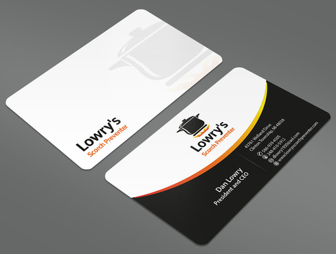 Lowry's Scorch Preventer Business Cards and Stationery  Draft # 30 by ArtworksKingdom