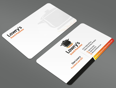 Lowry's Scorch Preventer Business Cards and Stationery  Draft # 43 by ArtworksKingdom