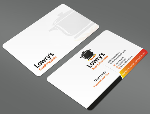 Lowry's Scorch Preventer Business Cards and Stationery  Draft # 44 by ArtworksKingdom
