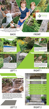 Evolve Home & Garden Marketing collateral  Draft # 2 by adizzz
