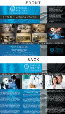 Flyer for Referring Doctors Marketing collateral  Draft # 41 by adizzz