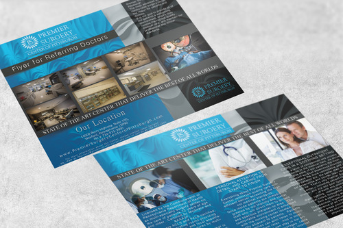 Flyer for Referring Doctors Marketing collateral  Draft # 42 by adizzz