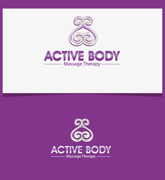 Active Body Massage Therapy A Logo, Monogram, or Icon  Draft # 18 by studio88