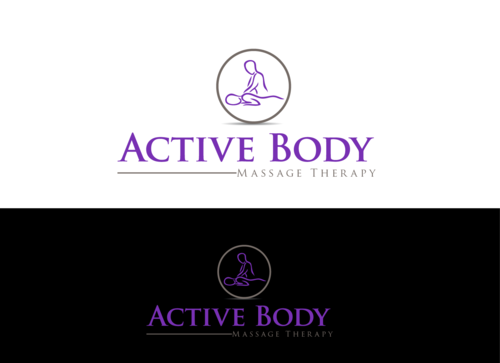 Active Body Massage Therapy A Logo, Monogram, or Icon  Draft # 32 by jonsmth620