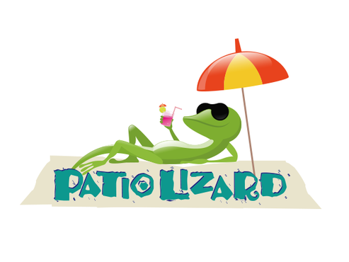 Patio Lizard A Logo, Monogram, or Icon  Draft # 32 by Mariposa