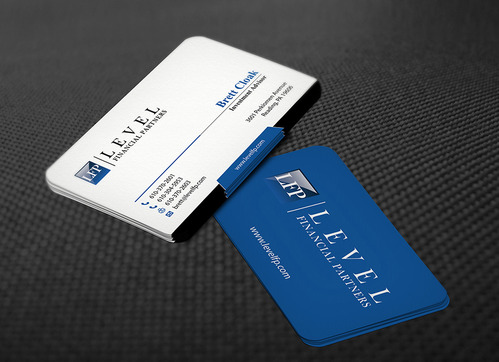 Level Financial Partners Business Cards and Stationery  Draft # 122 by mamun313