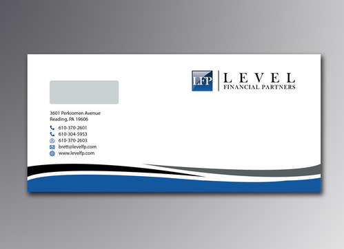 Level Financial Partners Business Cards and Stationery  Draft # 127 by mamun313