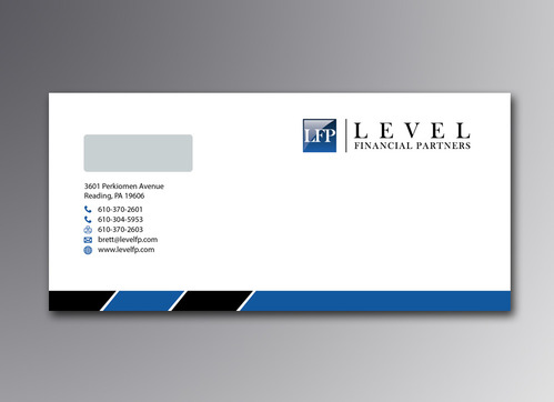 Level Financial Partners Business Cards and Stationery  Draft # 128 by mamun313