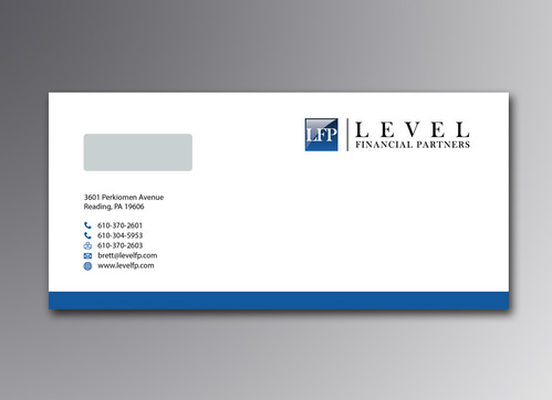 Level Financial Partners Business Cards and Stationery  Draft # 130 by mamun313