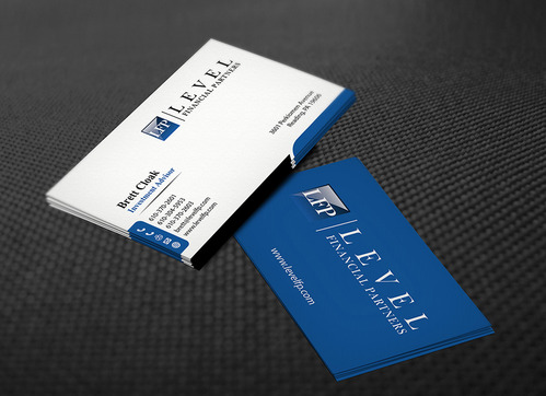 Level Financial Partners Business Cards and Stationery  Draft # 135 by mamun313