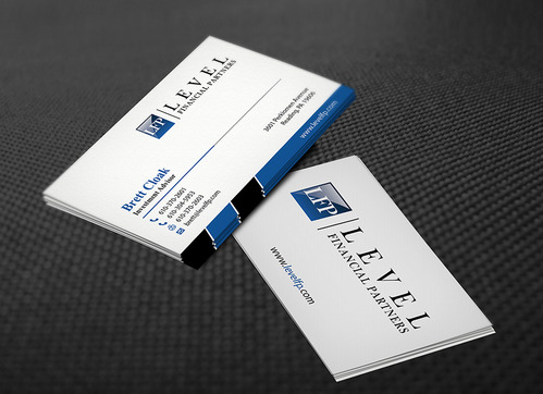 Level Financial Partners Business Cards and Stationery  Draft # 138 by mamun313