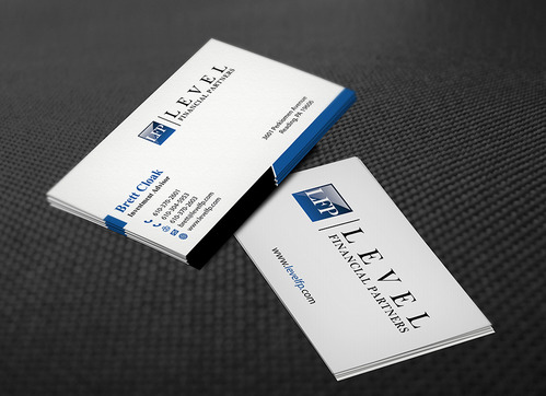 Level Financial Partners Business Cards and Stationery  Draft # 144 by mamun313