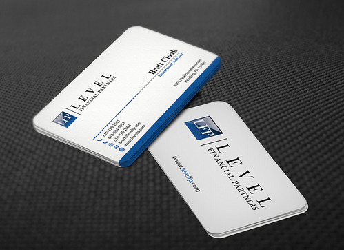 Level Financial Partners Business Cards and Stationery  Draft # 145 by mamun313