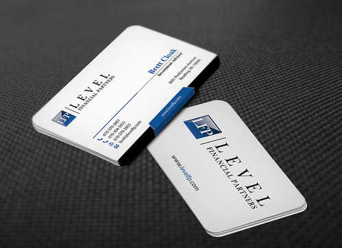 Level Financial Partners Business Cards and Stationery  Draft # 147 by mamun313