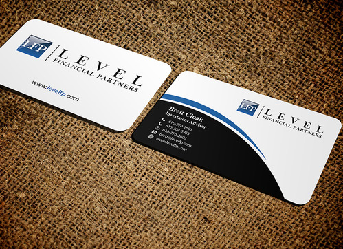 Level Financial Partners Business Cards and Stationery  Draft # 148 by mamun313