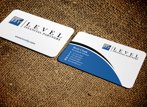 Level Financial Partners Business Cards and Stationery  Draft # 150 by mamun313