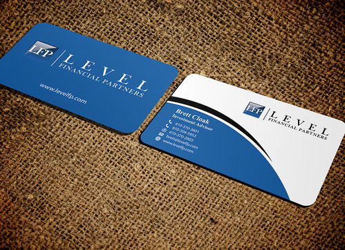 Level Financial Partners Business Cards and Stationery  Draft # 151 by mamun313