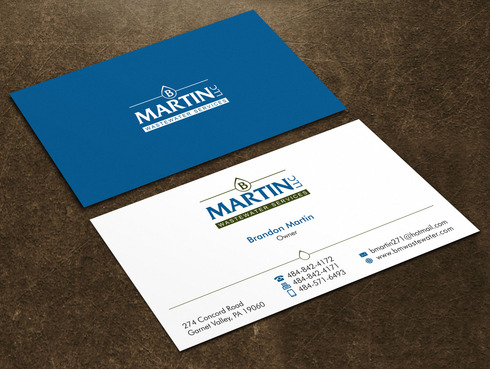 Wastewater Company  Business Cards and Stationery  Draft # 84 by Xpert
