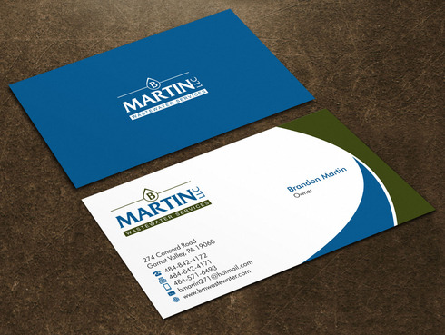 Wastewater Company  Business Cards and Stationery  Draft # 89 by Xpert