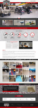 Epoxy coatings for concrete Complete Web Design Solution Winning Design by pivotal