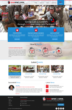 LOVE1X1.ORG Complete Web Design Solution Winning Design by itmech