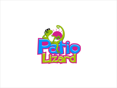 Patio Lizard A Logo, Monogram, or Icon  Draft # 36 by thebullet