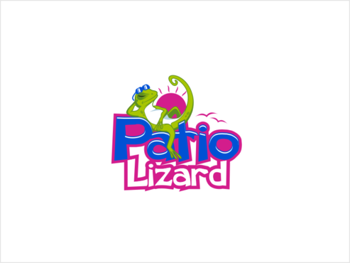 Patio Lizard A Logo, Monogram, or Icon  Draft # 38 by thebullet