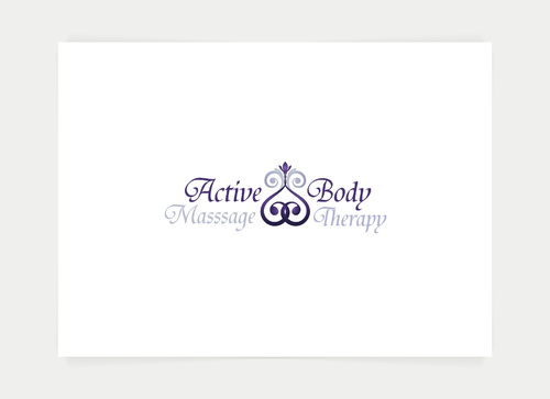 Active Body Massage Therapy A Logo, Monogram, or Icon  Draft # 80 by kinsey