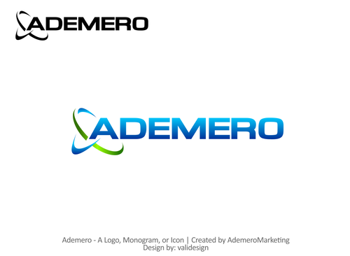 Ademero A Logo, Monogram, or Icon  Draft # 763 by validesign