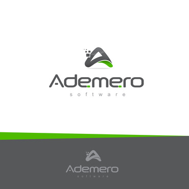Ademero Logo Winning Design by rogergrafico