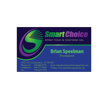 Smart Choice Spray Foam & Coatings Inc. Business Cards and Stationery  Draft # 232 by alternativecreation