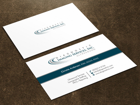 Diagnostic Imaging Services, Inc. Business Cards and Stationery  Draft # 44 by Xpert