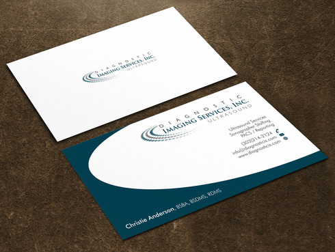 Diagnostic Imaging Services, Inc. Business Cards and Stationery  Draft # 45 by Xpert