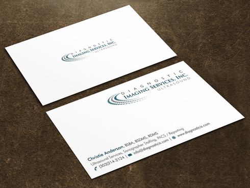 Diagnostic Imaging Services, Inc. Business Cards and Stationery  Draft # 46 by Xpert