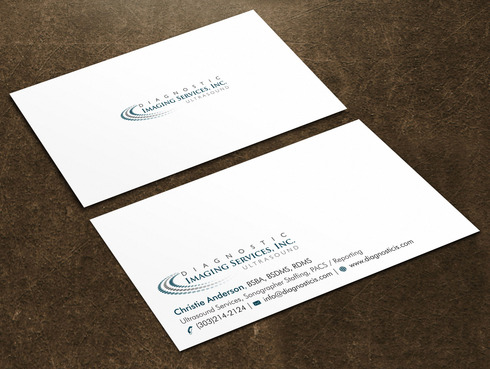 Diagnostic Imaging Services, Inc. Business Cards and Stationery  Draft # 47 by Xpert