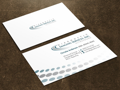 Diagnostic Imaging Services, Inc. Business Cards and Stationery  Draft # 48 by Xpert