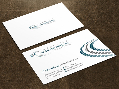 Diagnostic Imaging Services, Inc. Business Cards and Stationery  Draft # 49 by Xpert