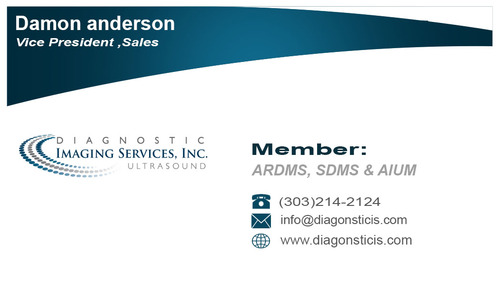 Diagnostic Imaging Services, Inc. Business Cards and Stationery  Draft # 83 by smoothdesign2200