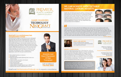 Premier Plastic Surgery & Dermatology Marketing collateral  Draft # 2 by Achiver