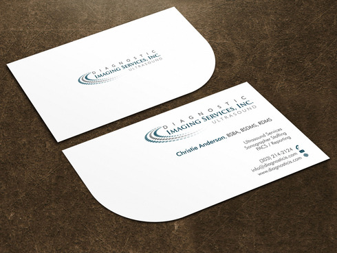 Diagnostic Imaging Services, Inc. Business Cards and Stationery  Draft # 135 by Xpert