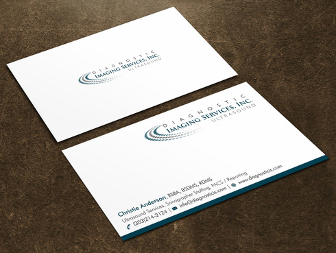 Diagnostic Imaging Services, Inc. Business Cards and Stationery  Draft # 136 by Xpert