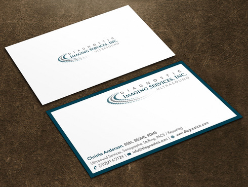 Diagnostic Imaging Services, Inc. Business Cards and Stationery  Draft # 137 by Xpert