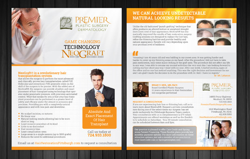 Premier Plastic Surgery & Dermatology Marketing collateral  Draft # 3 by Achiver