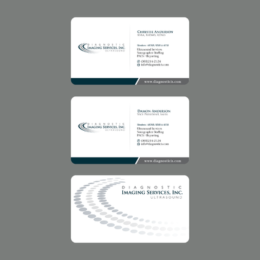 Diagnostic Imaging Services, Inc. Business Cards and Stationery  Draft # 138 by ArtworksKingdom