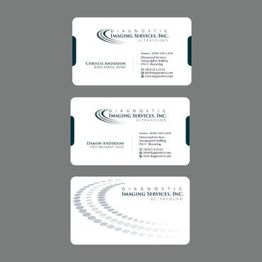 Diagnostic Imaging Services, Inc. Business Cards and Stationery  Draft # 139 by ArtworksKingdom