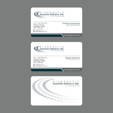 Diagnostic Imaging Services, Inc. Business Cards and Stationery  Draft # 140 by ArtworksKingdom