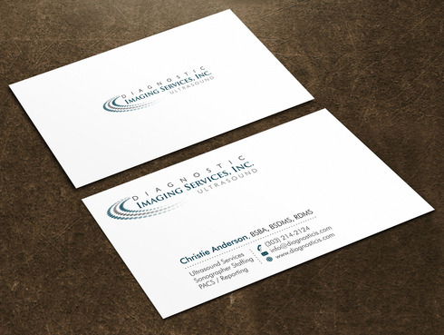 Diagnostic Imaging Services, Inc. Business Cards and Stationery  Draft # 141 by Xpert
