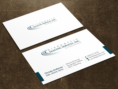 Diagnostic Imaging Services, Inc. Business Cards and Stationery  Draft # 142 by Xpert