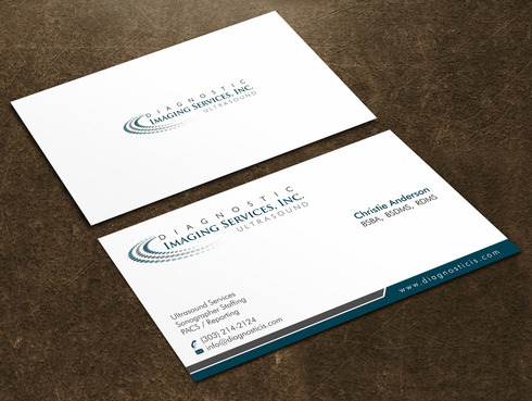 Diagnostic Imaging Services, Inc. Business Cards and Stationery  Draft # 143 by Xpert