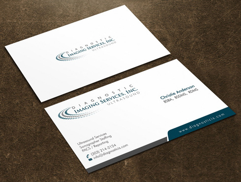 Diagnostic Imaging Services, Inc. Business Cards and Stationery  Draft # 144 by Xpert